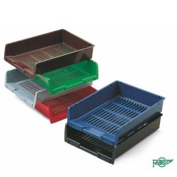 FAIBO - 90-04 bandeja de escritorio/organizador Poliestireno Verde