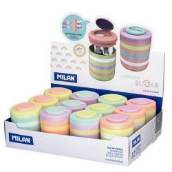 Milan - Pastel Sugar Diamond Sacapuntas manual Multicolor