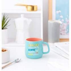 Mr. Wonderful - TAZA CERAMICA-GRACIAS POR ESTAR SIEMPRE DISPONIBLE Y CON MUCHA COBERTURA MR. WONDERFUL WOA09842ES