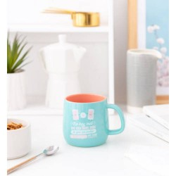 Mr. Wonderful - TAZA CERAMICA-NO HAY MAL QUE CIEN AÑOS DURE MR. WONDERFUL WOA09831ES