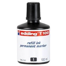 Edding - T100-01 recambio para marcador Negro 100 ml 1 pieza(s)