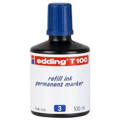 Edding - T100-03 recambio para marcador Azul 100 ml 1 pieza(s)
