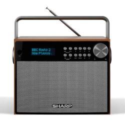 Sharp - SHARP DR-P350 RADIO DESPERTADOR PORTABLE SINTONIZADOR DAB, DAB+, FM,