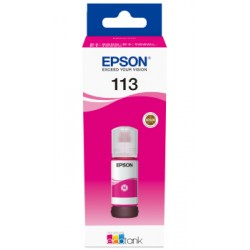 Epson - 113 EcoTank Pigment Magenta ink bottle