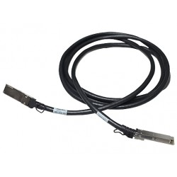 Hewlett Packard Enterprise - X242 40G QSFP+ to QSFP+ 1m DAC cable infiniBanc QSFP+