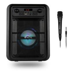NGS - Roller Lingo 9 W Altavoz portátil estéreo Negro