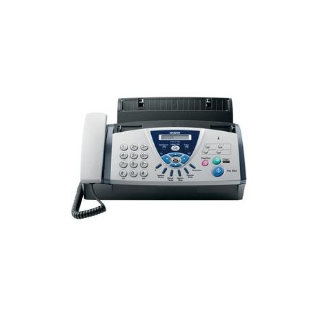 Brother - FAX-T106 Térmico 14.4Kbit/s A4 Negro, Azul, Gris fax