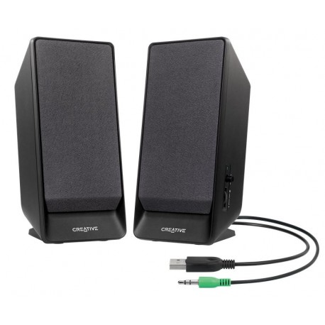 Creative Labs - A50 Stereo portable speaker 1.6W Negro