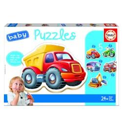 Educa - BABY PUZZLE VEHICULOS +24M EDUCA BORRAS 14866