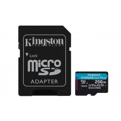 Kingston Technology - Canvas Go! Plus memoria flash 256 GB SD Clase 10 UHS-I - SDCG3/256GB