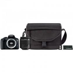 Canon - EOS 2000D 18-55 DC + SB130 + 16GB Juego de cámara SLR 24,1 MP CMOS 6000 x 4000 Pixeles Negro