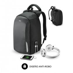 "SUBBLIM - Mochila para Portátil Secure Antitheft Backpack 16"" Black"