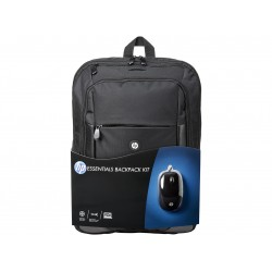 HP - Essentials Kit Negro mochila
