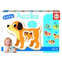 Educa - BABY PUZZLE ANIMALES DOMESTICOS +12M EDUCA BORRAS 17573