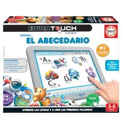 Educa - JUEGO EDUCA TOUCH JUNIOR APRENDO... EL ABECEDARIO DE 3-6 AÑOS EDUCA BORRAS 15435