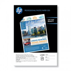 HP - Q6550A Mate Negro, Azul, Color blanco papel para impresora de inyección de tinta