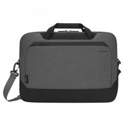 "Targus - CypressEco maletines para portátil 39,6 cm (15.6"") Maletín Negro, Gris"