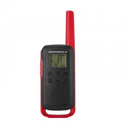 Motorola - TALKABOUT T62 two-way radios 16 canales 12500 MHz Negro, Rojo
