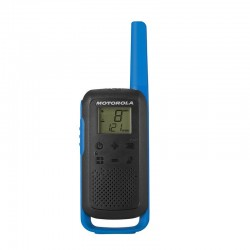 Motorola - TALKABOUT T62 two-way radios 16 canales 12500 MHz Negro, Azul