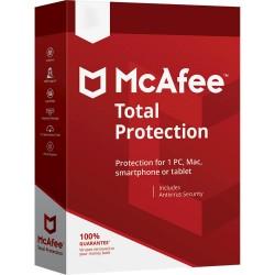McAfee - Total Protection Licencia básica 10 licencia(s) 1 año(s)