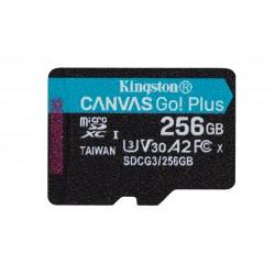 Kingston Technology - Canvas Go! Plus memoria flash 256 GB MicroSD Clase 10 UHS-I