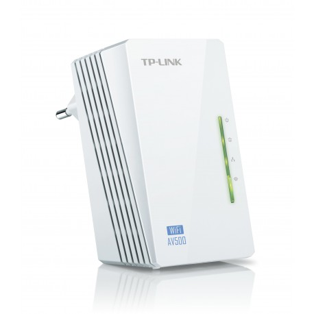 TP-LINK - TL-WPA4220 500Mbit/s Ethernet Wifi Color blanco 1pieza(s) adaptador de red powerline