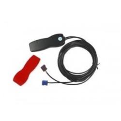 Lantronix - 60140 antena de coche Negro, Rojo