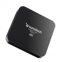 Sunstech - Suncast 8 GB Wifi Ethernet Negro 4K Ultra HD