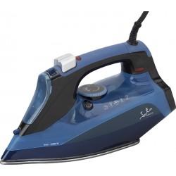JATA - PL501N plancha Plancha a vapor Suela de acero inoxidable Negro, Azul 2600 W