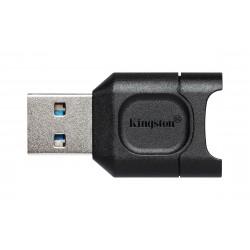 Kingston Technology - MobileLite Plus lector de tarjeta Negro USB 3.2 Gen 1 (3.1 Gen 1) Type-A