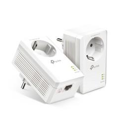 TP-LINK - TL-PA7017P KIT adaptador de red PowerLine 1000 Mbit/s Ethernet Blanco 2 pieza(s)