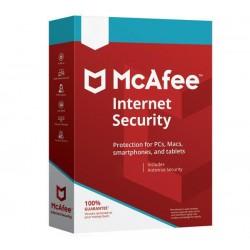 McAfee - Internet Security Licencia básica 3 licencia(s) 1 año(s)