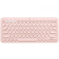 Logitech - K380 teclado Bluetooth QZERTY Español Rosa