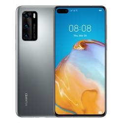 "Huawei - P40 15,5 cm (6.1"") 8 GB 128 GB Ranura híbrida Dual SIM 5G USB Tipo C Plata Android 10.0 Servicios móviles de Huawei (HM"
