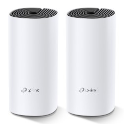 TP-LINK - Deco M4(2-pack) Doble banda (2,4 GHz / 5 GHz) Wi-Fi 5 (802.11ac) Blanco Interno