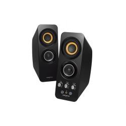 Creative Labs - T30 altavoz Negro Inalámbrico y alámbrico 3,5mm/Bluetooth