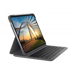 Logitech - Slim Folio Pro teclado para móvil QWERTY Español Grafito Bluetooth - 920-009708