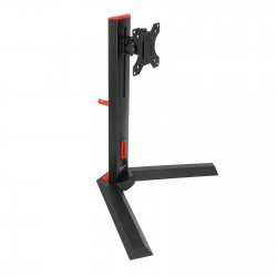 "TooQ - DB1401TN-B soporte de mesa para pantalla plana 81,3 cm (32"") Independiente Negro, Rojo"