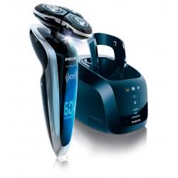 Philips - SHAVER Series 9000 SensoTouch RQ1290/21 afeitadora Máquina de afeitar de rotación Recortadora Negro