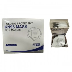 Sin Marca - Mascarilla FFP2-KN95 - Pack de 10 unidades
