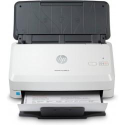 HP - Scanjet Pro 3000 s4 600 x 600 DPI Escáner alimentado con hojas Negro, Blanco A4