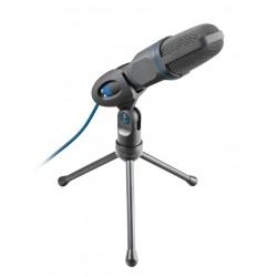 Trust - Mico Micrófono para PC Negro, Azul