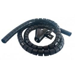 MCL - 9G/25-1.5N Mantenimiento de cables Negro protector de cable