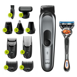 Braun - 81705167 cortadora de pelo y maquinilla Gris