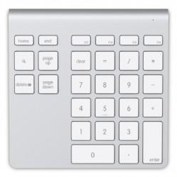 Belkin - F8T068VF teclado numérico Bluetooth Portátil/PC Aluminio