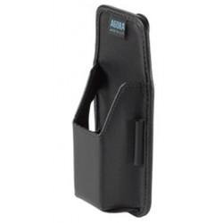 Zebra - SG-MC2121205-01R funda para dispositivo periférico Ordenador de mano Cuero Negro