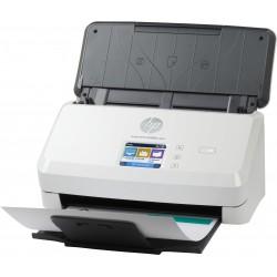 HP - Scanjet Pro N4000 snw1 600 x 600 DPI Escáner alimentado con hojas Negro, Blanco A4