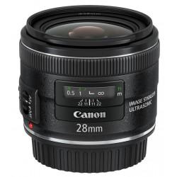 Canon - EF 28mm f/2.8 IS USM SLR Objetivo ancho Negro