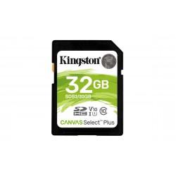 Kingston Technology - Canvas Select Plus memoria flash 32 GB SDHC Clase 10 UHS-I