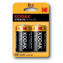 Kodak - KDXLR20PB2 Batería de un solo uso D Alcalino